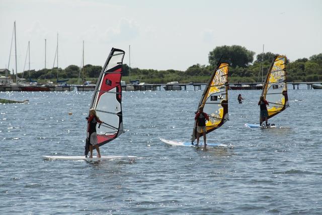 Surfen auf Rügen