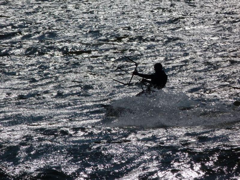 Kitesurfing auf Rügen