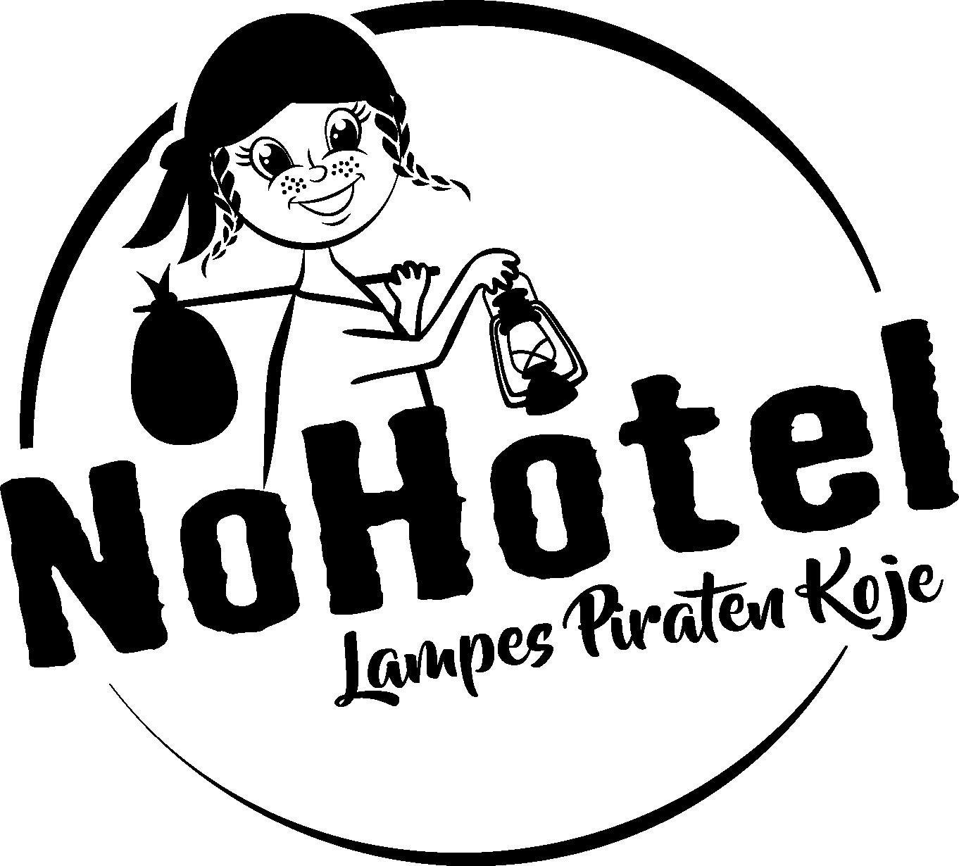 Logo NoHotel - Lampes Piraten Koje