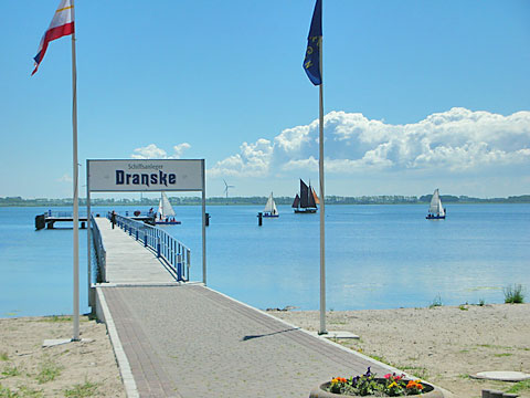 Steg Dranske auf Rügen