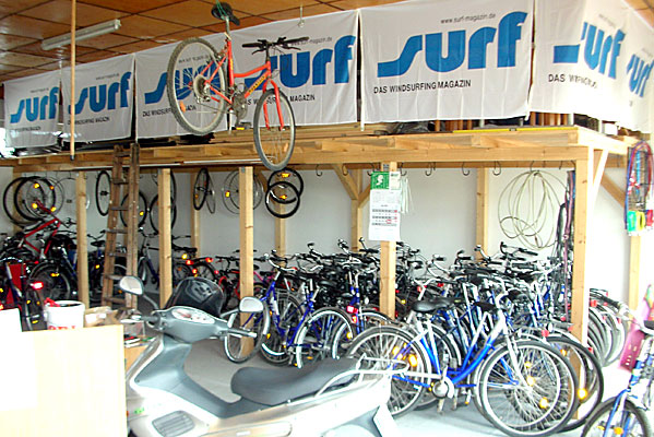 Fahrradverleih UST Rügen in Dranske